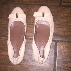 Cole Haan ballet flats with bow